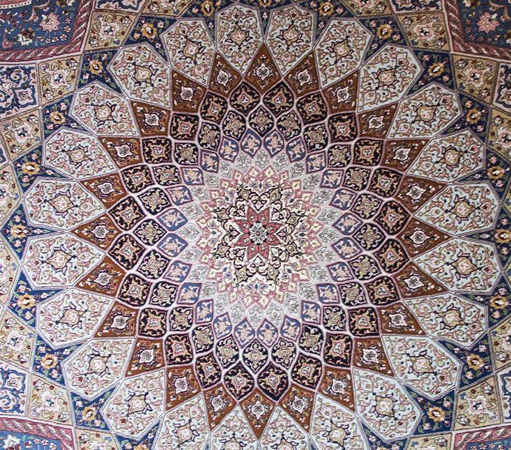 Come nasce il tappeto annodato a mano